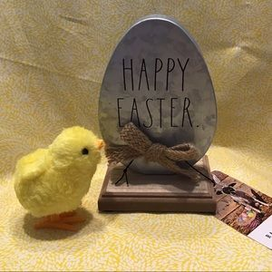Rae Dunn HAPPY EASTER Metal Sign